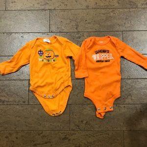 Other - 2 Halloween onesies